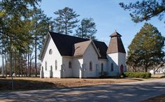 St. Alban's Episcopal Church at Gainesville, AL, photo courtesy Rural Southwest Alabama