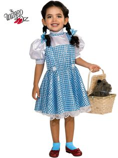 Girl's Wizard of Oz Dorothy Sequin Costume | Wholesale Dorothy Costumes for Girls