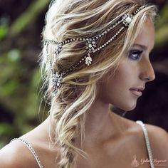Olivia Headpieces Gelin Saçı Aksesuarı - 2