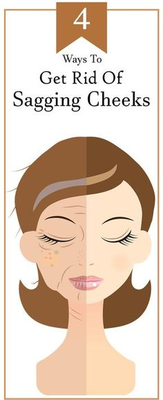 4 Effective Ways To Get Rid Of Sagging Cheeks