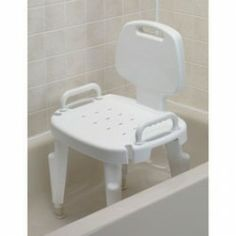 Maddak Inc Shower Seat W/Arms & Back -  Price (MSRP: $ 105.19 Your Price: $ 66.58 Save up to 37%). http://www.discountmedicalsupplies.com/store/bath-and-shower-safety/showers-stools-seats/mdk114.html