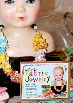 fabric jewelry kit