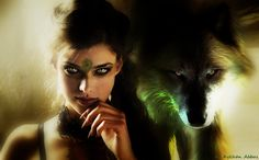 Image result for girl wolf