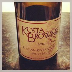 Kosta Browne 10 Russian River Pinot... So minty w loads of happy, juicy red fruit. Always a winner when it comes to CA Pinot