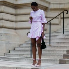 Paris Couture Fashion Week | As always, Black women took style to another level this year. From Fashion Week to Essence Festival to just another day out and about, these street style looks reigned supreme. Revel in the awesomeness that is Black women's style and get inspired for 2017!