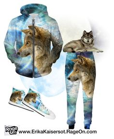 """""""Wolf and Planets Outfi"""" by erikakaisersot ❤ liked on Polyvore"""