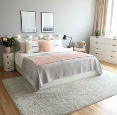 dream rooms for girls teenagers & dream rooms ; dream rooms for adults ; dream rooms for women ; dream rooms for couples ; dream rooms for adults bedrooms ; dream rooms for girls teenagers Dream Rooms, Dream Bedroom, Diy Bedroom, Bedroom Modern, Bedroom Ideas Grey, Grey Room Decor, Bedroom Themes, Light Gray Bedroom, Bedroom Sets