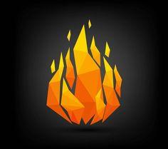Flame Tattoos, Mini Tattoos, Small Tattoos, Fire Tattoo, 1 Tattoo, Geometric Origami, Elements Of Design, Drawing Skills, Fire And Ice