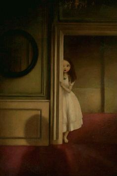 Stephen Mackey - Painting: The Secret People Art And Illustration, Portrait Illustration, Art Illustrations, Fashion Illustrations, Arte Grunge, Gothic Art, Surreal Art, Dark Art, Art Inspo