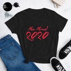 "► FEATURES • 100% jersey knit • Pre-shrunk • Seamless, double-need ⅞"" collar • Taped neck and shoulders • Classic fit . #newnormal #2020tshirt #covidtshirt #covid #tshirtfashion  #apparelbrand  #tshirtshop  #teeshop  #streetfashionsource  #streetwearsource  #streetfashions  #streetweardaily  #streetfashionstyle  #streetfashionwomen  #girlsfashion #womanfashion #girlstee #girltee #womentees #tshirtonline #streetwear #streetlook #urbanwear #tee #tees #teeshirts"