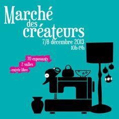 Marché des créateurs de Malakoff, samedi 7 et dimanche 8 décembre 2013.
