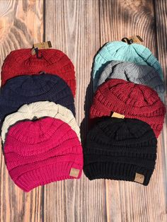 CC Slouchy Knit Beanie (Choose Your Color)