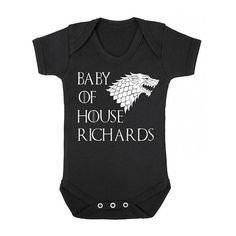 Game of Thrones Baby Onesie / Personalized Game Of Thrones