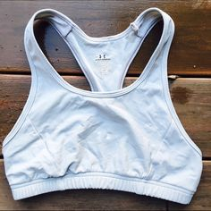 Grey Under Armour Sports Bra Great condition, wore a couple of times! Ships Immediately! Under Armour Intimates & Sleepwear Bras