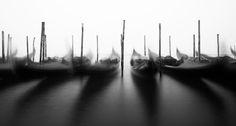 Rocking in Venice. Venice, Italy. #Atmosphere #Canal #Canale #DarkAtmosphere #Dreamy #Dream #fineart #fineartphotography #Fog  #Foggy #Gondolas #Venice #WideAngle #Veneto #Venezia #travel #Mood #Moody #Posts #marcoromaniphotography #marcoromani #Lagoon #Gondola #Laguna #Venetian #Nikon #Feisol #Nikkor #NikonD800 #italy #italia #longexposure #blackandwhite #monocrome