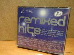 REMIXED HITS. ( 3 X CD ) NUMEROS 1 DE LA MUSICA DANCE 80 Y 90. TRIPLE CD - 54 TEMAS - PRECINTADO