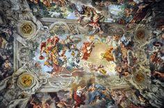 Rome, Palazzo Barberini Central Great Hall