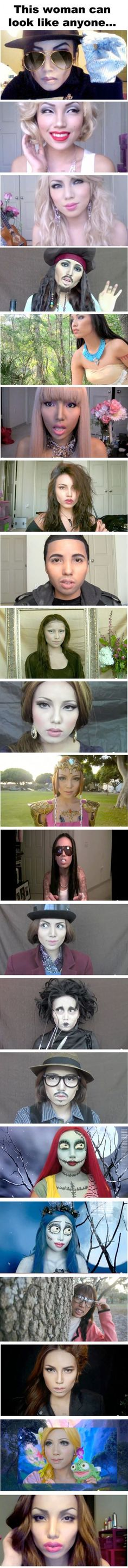 The Incredible Power Of Makeup...ermigawd