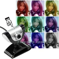 USB 2.0 16.0M Webcam Camera Web Cam HD with MIC for Computer PC Laptop New -870 #UnbrandedGeneric