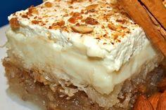 Τα γλυκά είναι μια απόλαυση, την οποία δε χρειάζεται κάποιος να στερηθεί λόγω Σαρακοστής. Πολλά, μάλιστα, από τα αγαπημένα μας εδέσματα έχουν μια νηστίσιμη εκδοχή, εξίσου νόστιμη και σε ορισμένες περιπτώσεις αρκετά πιο υγιεινή. Ένα από αυτά είναι και το νηστίσιμο εκμέκ. Mashed Potatoes, Pie, Sweets, Cooking, Ethnic Recipes, Desserts, Food, Whipped Potatoes, Torte