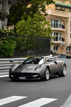 "Pagani Huayra. It is an Italian mid-engined sports car produced by Pagani. Succeeding the company's previous offering, the Zonda, it costs €1,198,000 ($1,600,000). It is named after Wayra Tata, which means ""God of the winds"" in Quechua, the official language of the Inca Empire.  Photo from Monte Carlo: http://www.gregpiatkowski.com/monte-carlo-fascinating-place-to-visit-and-live/"