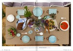 ApaCuka ceramics - as seen in the PIN magazin summer issue Food Design, Hungary, Ceramics, Table Decorations, Summer, How To Make, Vintage, Home Decor, Ceramica