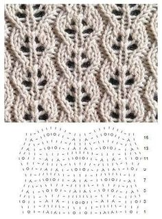 lace knitting E-Mail Renate Riedel Outlook Lace Knitting Stitches, Lace Knitting Patterns, Knitting Charts, Lace Patterns, Free Knitting, Baby Knitting, Stitch Patterns, Knit Crochet, Barbie Barbie