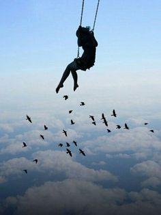Полёт и свобода.