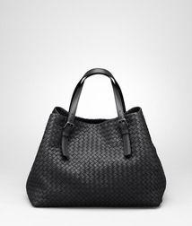 Bottega Veneta® Nero Intrecciato Nappa Tote woven leather feels so nice b677cd0f7c2
