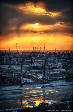 Hamburg Frost #Hamburg
