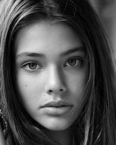 Laneya Grace - 2017 - Shoot by Wendy Horton Black And White Portraits, Black White Photos, Black And White Photography, Photo Portrait, Female Portrait, Portrait Photography, Laneya Grace, Most Beautiful Faces, Beautiful Eyes