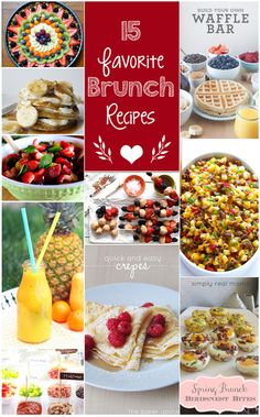 15 brunch ideas
