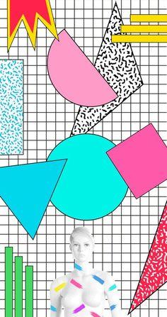 Tyler Spangler - Tyler Spangler x Ololade Adeniyi . Memphis Design, Memphis Art, Memphis Milano, Design Graphique, Art Graphique, 80s Design, Memphis Pattern, Grafik Design, Tyler Spangler