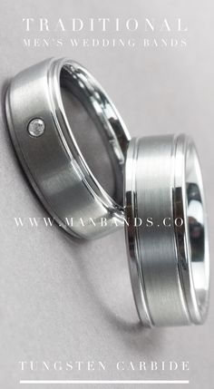 Men's Wedding Bands | Tungsten Carbide Mens Wedding Bands & Rings @ affordable prices