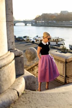 How to Wear Mod Fashion Modernly – Glam Radar Mod Fashion, High Fashion, Fashion Beauty, Vintage Fashion, Spring Fashion, Haute Couture Style, Swing Rock, Vogue, Swing Skirt
