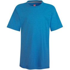 Hanes Boys X-temp Short Sleeve T-shirt, Boy's, Size: XL, Blue