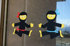 Ninja Birthday Party - with dollar store supplies. Super creative and funny.