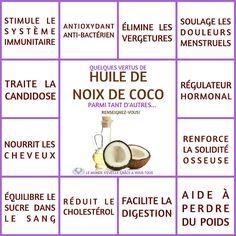 Les Bienfaits de l'huile de Coco | HUILE DE COCO Le Monde s'Eveille Grâce à Nous Tous ♥