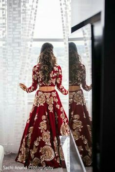51 Ideas Indian Bridal Lehenga Red Outfit For 2019 Indian Bridal Outfits, Indian Bridal Wear, Bridal Dresses, Indian Bridal Lehenga, Red Lehenga, Bridal Lehnga Red, Lehenga Choli, Bridal Lenghas, Indian Bridal Party
