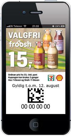 7-Eleven: Froosh til kr 15,-