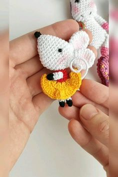 Amigurumi animal brooch crochet tutorials, crochet brooches, crochet patterns, pdf/eng You are in the right place about Crochet dress Here we offer you the most. Crochet Rabbit, Crochet Mouse, Crochet Amigurumi, Crochet Dolls, Free Crochet, Crochet Turtle, Crochet Unicorn, Dragon En Crochet, Crochet Brooch