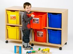 5 Inspiring Alternative Toy Storage Units with 10 Images