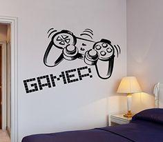 Wall Stickers Vinyl Decor Joystick Controller Video Games Gamer Decor XBox Playstation (z2219), http://www.amazon.com/dp/B00KAR9FJA/ref=cm_sw_r_pi_awdm_MVuAub1E8TX5W