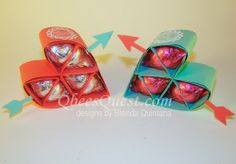 Qbee's Quest: Hershey's Heart Tutorial UPDATED. Click on link for tutorial and template. http://qbeesquest.blogspot.ca/2014/01/hersheys-heart-tutorial-updated.html