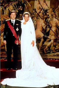 Princess Mathilde and Prince Philippe