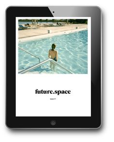 FutureSpace magazine issue Designed by Atelier Dyakova. Cover image by Stephen Shore. Web Design, App Ui Design, Book Design, Layout Design, Graphic Design Projects, Graphic Design Inspiration, Webpage Layout, User Interface Design, Digital Magazine