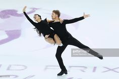 Madison Chock and Evan Bates of United States compete during Senior Ice Dance Free Dance on day three of the ISU Junior and Senior Grand Prix of Figure Skating Final at Palais Omnisports on December 10, 2016 in Marseille, France.