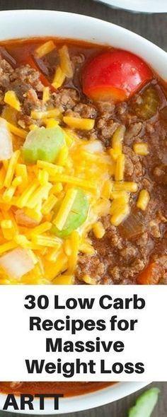 30 low carb recipes