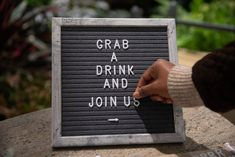 This Message Board will make every event - announcement, wedding, anniversary, party- looks more sexy. Felt Letter Board, Message Board, Party Looks, Wall Hooks, How To Plan, How To Make, Wedding Anniversary, Event Planning, Announcement