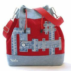 VK is the largest European social network with more than 100 million active users. Denim Purse, Jeans Denim, Tote Purse, Denim Handbags, Purses And Handbags, Mochila Jeans, Jean Purses, Handmade Purses, Patchwork Bags